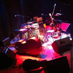 Stage before a gig